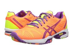 f0e628d1eed0 Asics gel solution speed 2 bright orange lavender bright yellow at 6pm.com