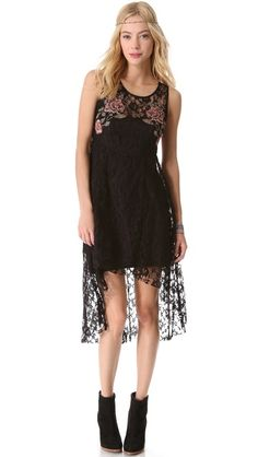 Free People Russian Nesting Doll Dress-obsessed with the embroidery detailing on this! @Shopbop