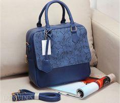 Soft Hollow One Shoulder Vintage Style Handbag