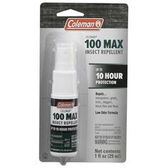 Coleman 100 Max Deet Insect Repellent Spray Pump 1Ounce 9811 * Read more  at the image link.Note:It is affiliate link to Amazon. #love