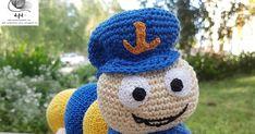 """Kukac Úr már régebben """"megszületett"""", de valahogy nem volt idő feltenni...😟   Na de most már pötyögöm is gyorsan hogy hogyan kell meghorg... Crochet Hats, Marvel, Urban, Amigurumi, Knitting Hats"""