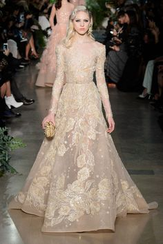 The Best Bridal Looks from Spring 2015 Couture  - HarpersBAZAAR.com