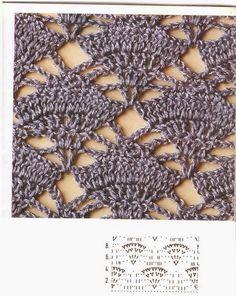 Ivelise Feito à Mão: Ponto Fantasia Vazado Em Crochê