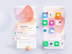 Real iOS Concept designed by Andrei Simion for Orizon: UI/UX Design Agency. Connect with them on Dribbble; Web Design, App Ui Design, Mobile App Design, Mobile Ui, Interface Design, Flyer Design, User Interface, Design Blogs, Design Layouts