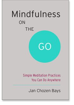 Mindfulness on the Go: Simple Meditation Practices You Can Do Anywhere: 9781611801705: Jan Chozen Bays: Books: Shambhala Publications