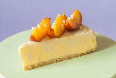Mandel-Mango-Eistorte  sommerlich frisch