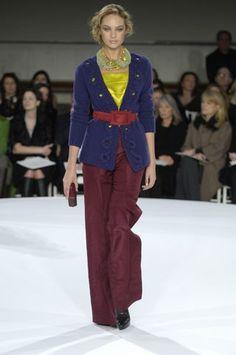 Oscar de la Renta Pre-Fall 2008 Fashion Show - Candice Swanepoel