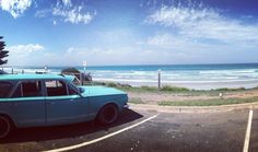 There's nothing wrong with an occasional bit of r&r time when the waves are rolling in right? Nice little day out to another favourite place today Port Fairy loving you!  #livefastcafe #nothallsgap #portfairy #valiantwagon #ap5 #ap5wagon #chrysler #surf #surfwagon #explorevictoria #exploreaustralia #visitvictoria #surfsup #roadtrip by livefastcafe