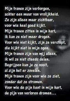 Mijn tranen zijn verborgen      @afscheid nemen bestaat niet