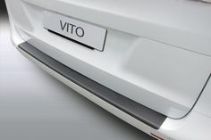 Bumperbeschermer MB Vito - V-Klasse (W447) - matzwart | Car Parts Expert Mercedes Benz, Vito, Car Parts, Bose