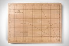 For the OCD person in your life.The Obsessive Chef Cutting Board Wine Away, Amazing Girlfriend, Gifts For Boys, Really Cool Stuff, Kitchen Hacks, Tumblr, Gadgets, Cutting Boards, Consistency