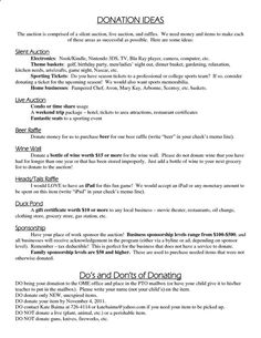 Silent Auction Donation Letter Template New Silent Auction Ideas Donation Ideas Silent Auction Donations, Silent Auction Baskets, Nonprofit Fundraising, Fundraising Events, Fundraising Ideas, Fundraising Letter, Donation Letter Template, Letter Templates, School Auction