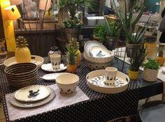 Jardin D'Ulysse Decoration Cactus Et Vaisselle Ananas Pour L'été