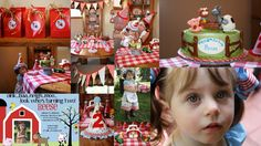 Strawberry Lane: E-I-E-I-O.....Farm 2nd Birthday Party!!!