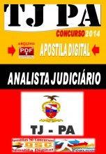 Apostila Concurso TJ PA Analista Judiciario Oficial de Justica Avaliador 2014