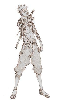 Commissh - Hajime Riichi by MizaelTengu.deviantart.com on @deviantART