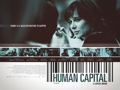 Il capitale umano - Poster design by What is Bobo