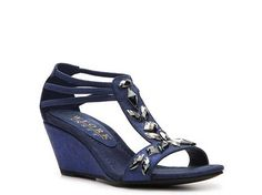 New York Transit Velocity Wedge Sandal | DSW