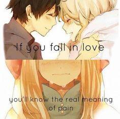 Love...pain....