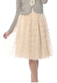 Polka Dot Tutu Skirt