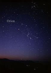 Orion (Sternbild) – Wikipedia
