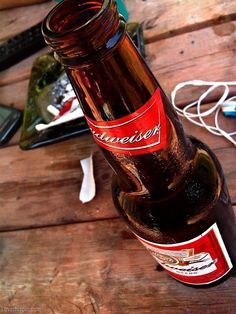 Budweiser party drinks outdoors beer country