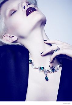 High Jewelry: Ola Rudnicka by Ben Hassett for Dior Magazine