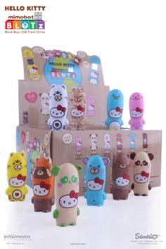 Mimoco x Hello Kitty Loves Animals BLOTz Blind Box Flash Drive (2GB)