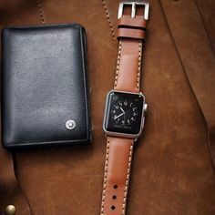 Handmade leather straps classic design for #AppleWatch #applewatches incl. lug adapter and buckle. Vist my profile to order  #apple #appleonly #applegermany #appleworldwide #applewatchsport #applewatchedition #iphone #iphoneonly #iphone6plus #iphonedaily #iphoneology #instatime #instawatches #dailywatch #timepieces #womw #watches #wornandwound #watchesofinstagram #horology #watchfam #watchgeek #watchnerd #watchporn by blackforest_atelier