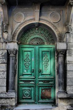 Istanbul's doors, Mahmutpasa by Aykut Kuru. Istanbul, Turkey.
