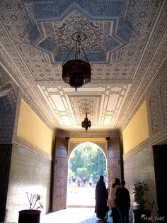 Koutoubia mosque ensemble artisanal Marrakech, Interior, Morocco, Africa