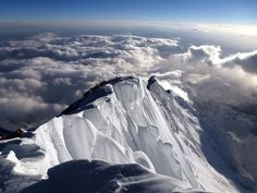 on the top of Everest... K2