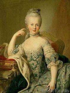 Meister der Meister der Erzherzoginnen - Marie Antoinette / Mst.d.Erzherzoginnen