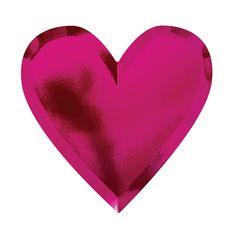 Die Cut Valentine's Heart Plate