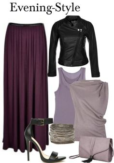 Maxi Skirt - Evening-Style