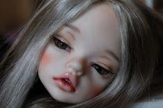 Голова DIM Лайя+глаза силикон+парик моник / Шарнирные куклы BJD / Шопик. Продать купить куклу / Бэйбики. Куклы фото. Одежда для кукол