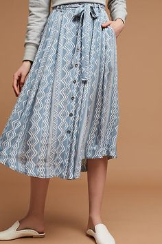 Moon River Brigida Midi Skirt