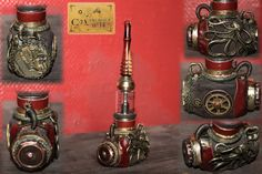 electronic cigarette steampunk vape e-pipe by Cirdann72 on DeviantArt