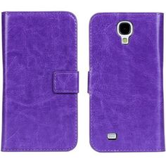 New Case - Samsung Galaxy S4 Purple Crazy Horse Pattern Leather Wallet Case Cover, $14.95 (http://www.newcase.com.au/samsung-galaxy-s4-purple-crazy-horse-pattern-leather-wallet-case-cover/)