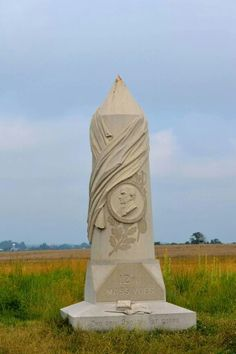 Pennsylvania | 12th Massachusetts Monument at Gettysburg