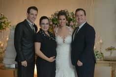 Casamento Thati e Ricardo  Assessoria Flor de Lis Assessoria de Casamentos  Fotografia Luis Baroni