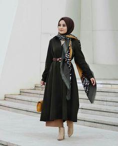 Islamic Fashion, Muslim Fashion, Modest Fashion, Fashion Outfits, Hijab Elegante, Hijab Chic, Casual Hijab Outfit, Casual Fall Outfits, Muslim Girls