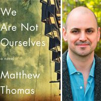Author Matthew Thomas lost his father to early-onset Alzheimer's. Now, in his first novel, Thomas writes about a family going through a similar struggle.