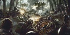 March of War Centerpiece Artwork by daRoz.deviantart.com on @deviantART