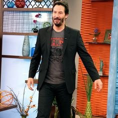 People Magazine | Keanu Reeves shocked by intruders