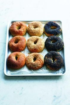 I'm after the bagel recipe, but all of the ones in this article are worthy of trying.