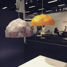 """Krafla at Stockholm Furniture & Light Fair 2016 as a part of ""Aurora - Nordic Conditions"" exhibition! Check it out in B hall B12:21 #krafla…"""