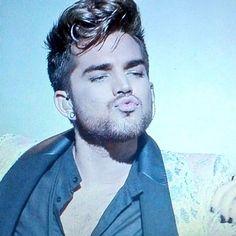 Adam Lambert ~ Pucker Up Baby!