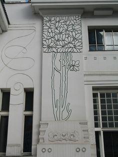 Vienna Secession exterior motif