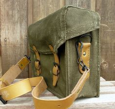 French military satchel